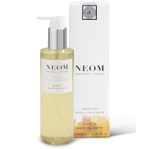 Gel para Mãos e Corpo Organics Great Day da NEOM (250 ml)