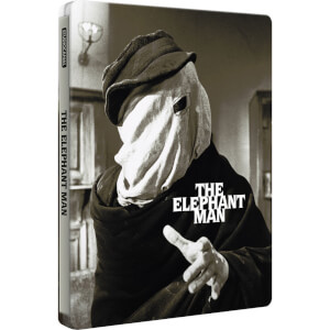 The Elephant Man - Zavvi Exclusive Limited Edition Steelbook (Ultra Limited Print Run with Gloss Finish. Limited to 2000 Copies.)
