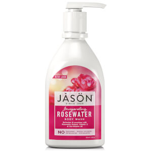 JASON Invigorating Rosewater Satin Body Wash Pump (30oz)