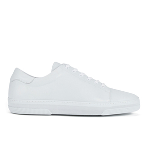 A.P.C. Men's Jaden Leather Tennis Shoes - White