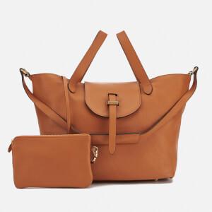 meli melo Women's Thela Classic Leather Tote Bag - Tan