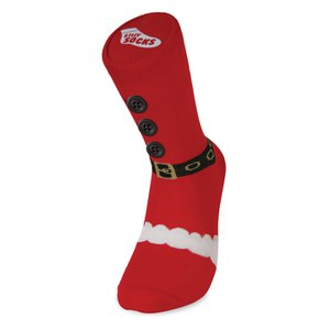 Silly Socks Adult - Thick Santa Boot - 5-11