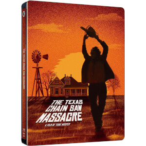 The Texas Chainsaw Massacre (1974) - 40th Anniversary Limited Edition Steelbook (UK EDITION)