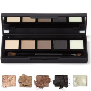 Paleta cieni do powiek i brwi HD Brows – Foxy