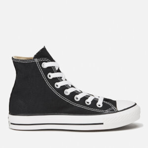 Converse All Star Canvas Hi-Top Trainers - Black