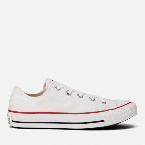 Converse Chuck Taylor All Star Ox Canvas Trainers - Optical White: Image 1