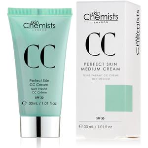 skinChemists Crema CC Piel Perfecta SPF30 – Intermedio (30ml)