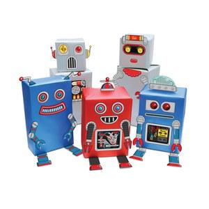 Papier Cadeau Robots - Transformez vos cadeaux en robots !