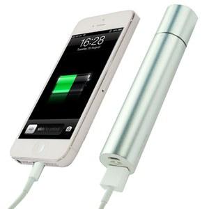 Batterie externe 3 en 1, avec lampe torche et chaufferette mains -Argent
