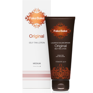 Lotion autobronzante luxueuse Fake Bake Bronze doré Original (207ml)