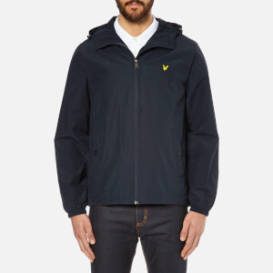 Lyle & Scott Vintage Men's Zip Through Hooded Jacket - New Navy