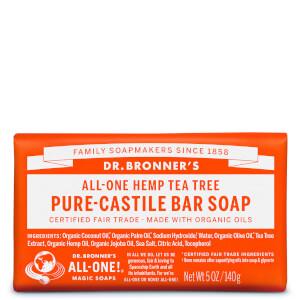 Dr Bronner's Pure CastileBar Soap Tea Tree 140g