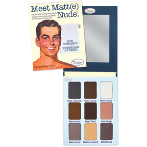 Paleta de Sombras Mate theBalm Meet Matt(e)