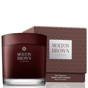 Molton Brown Black Peppercorn Three Wick Candle 480g