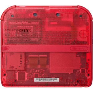 Nintendo 2DS Transparent Red + Pokémon Omega Ruby: Image 5