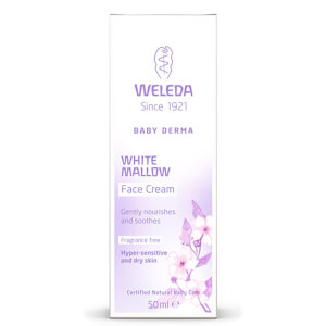Weleda Baby Derma White Malve Face Cream (50ml)