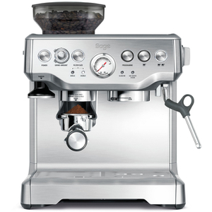 Sage by Heston Blumenthal BES870UK Barista Express Bean-to-Cup Coffee Machine - Stainless Steel