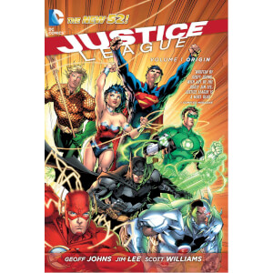 Justice League: Origin - Volume 1 (The New 52) Paperback Graphic Novel