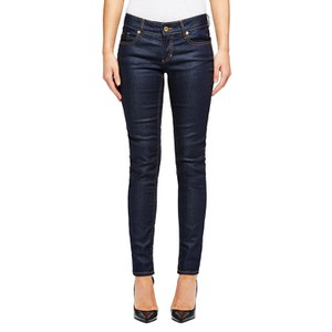 BOSS Orange Women's Lunja Low Rise Slim Fit Jeans - Navy