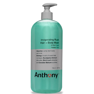 Anthony Invigorating Rush Hair and Body Wash Jumbo