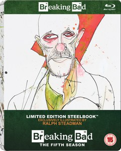 Breaking Bad: Season 5 - Zavvi UK Exklusive Limitierte Steelbook Edition (Inklusive UltraViolet Copy)