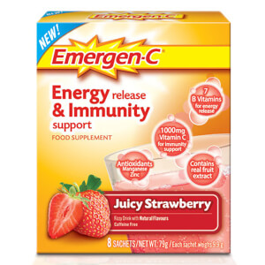 Emergen-C Strawberry Pack (8 μερίδες)