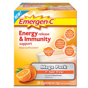 Emergen-C Orange Pack (megapakke med 24 portioner)