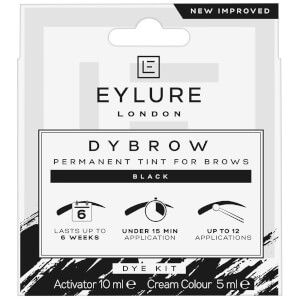 Zestaw do henny brwi Eylure Pro-Brow Dybrow – Black
