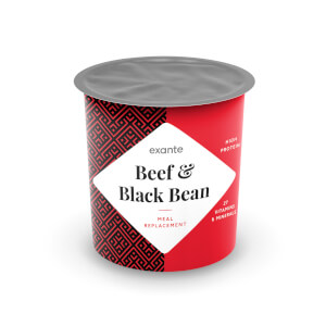 Meal Replacement Beef and Black Bean Pot Meal