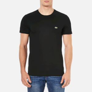 Lacoste Men's Basic Crew T-Shirt - Black