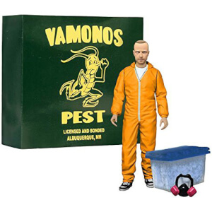 Breaking Bad Figura Deluxe Jesse Pinkman in Orange Hazmat Suit heo Exclusive
