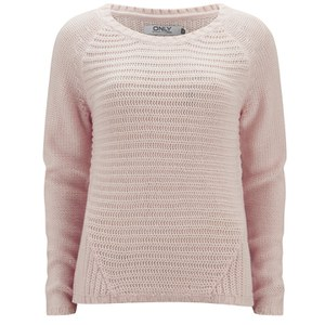 ONLY Women's Tullalu Jumper - Barely Pink