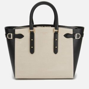 b16d29e61d0c Aspinal of London Women s Marylebone Tote Bag - Monochrome