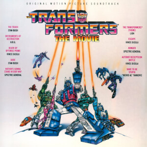 Transformers: The Movie OST LP