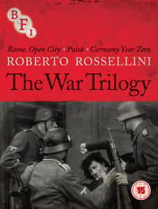 The Rossellini Collection: The War Trilogy Limited Edition