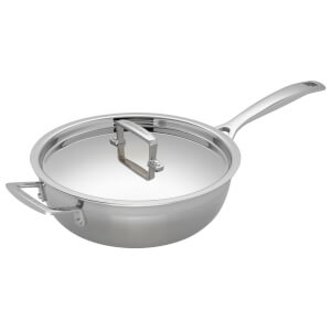 Le Creuset 3-Ply Stainless Steel Non-Stick Chef's Pan - 24cm