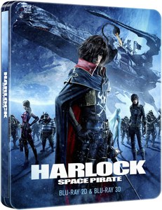 Harlock Space Pirate Steelbook 2D/3D (UK EDITION)