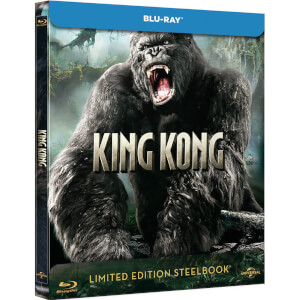 King Kong (2005) - Zavvi UK Exclusive Limited Edition Steelbook