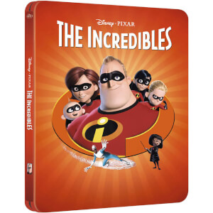 The Incredibles - Zavvi Exclusive Limited Edition Steelbook (The Pixar Collection #10) (3000 Only)