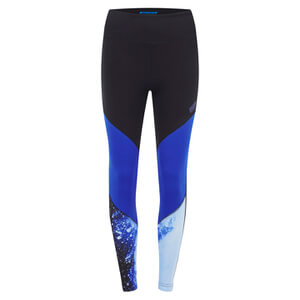 Myprotein Women's High Waisted Colour Block Leggings - Blue