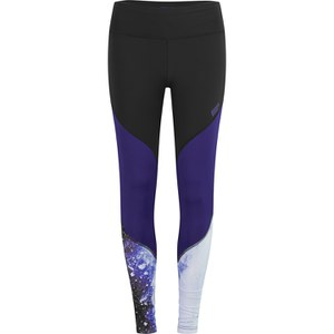 Myprotein Colour Block Leggings med hög midja, Dam - Lila