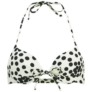Vero Moda Women's Dotty Bikini Top - Snow White