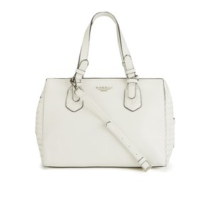 Fiorelli Women's Roxanne East West Shoulder Bag - White Weave