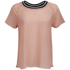 ONLY Women's Lill Sporty Top - Peach