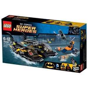 LEGO Super Heroes: Die Batboat-Verfolgungsjagd im Hafen (76034)