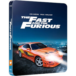 The Fast and the Furious - Zavvi UK Exclusive Limited Edition Steelbook (Limited to 2000 Copies and Includes UltraViolet Copy)