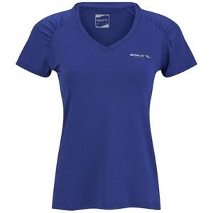Gola Women's Felix Short Sleeve Training T-Shirt - Clemantis Blue