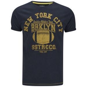 Camiseta Impresión MT Strong Soul Star  - Azul Marino