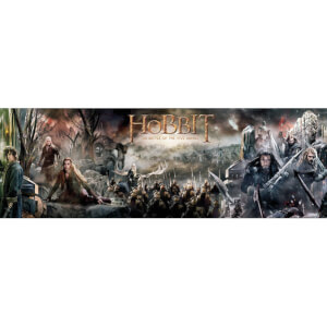The Hobbit Battle of Five Armies Collage - Door Poster - 53 x 158cm