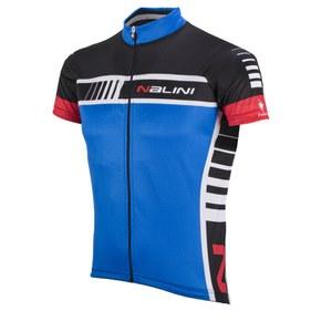 Nalini Red Label Tescio Short Sleeve Jersey - Blue